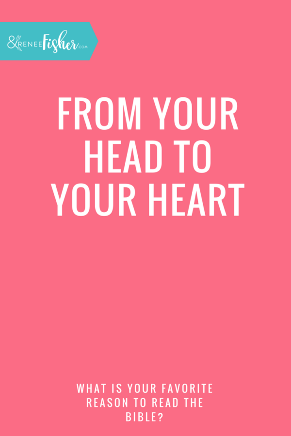 From Your Head to Your Heart