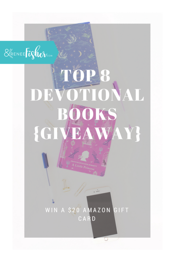 Top 8 Devotional Books + {Giveaway}