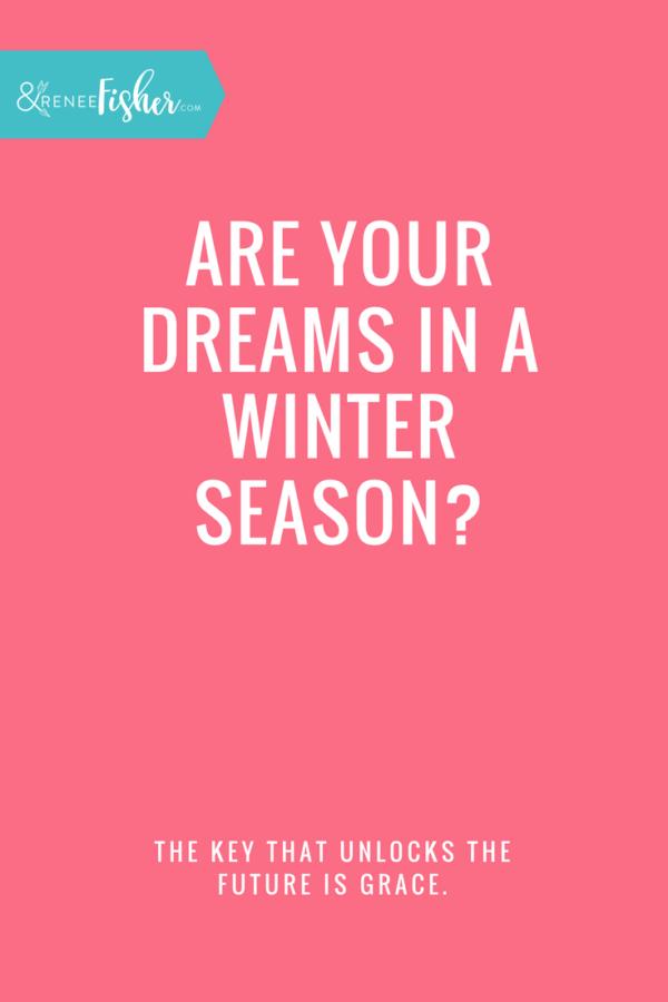 Are your dreams in a winter season? #springiscoming