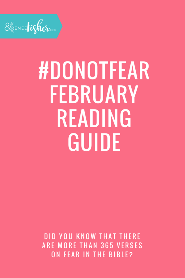 #DoNotFear February Reading Guide