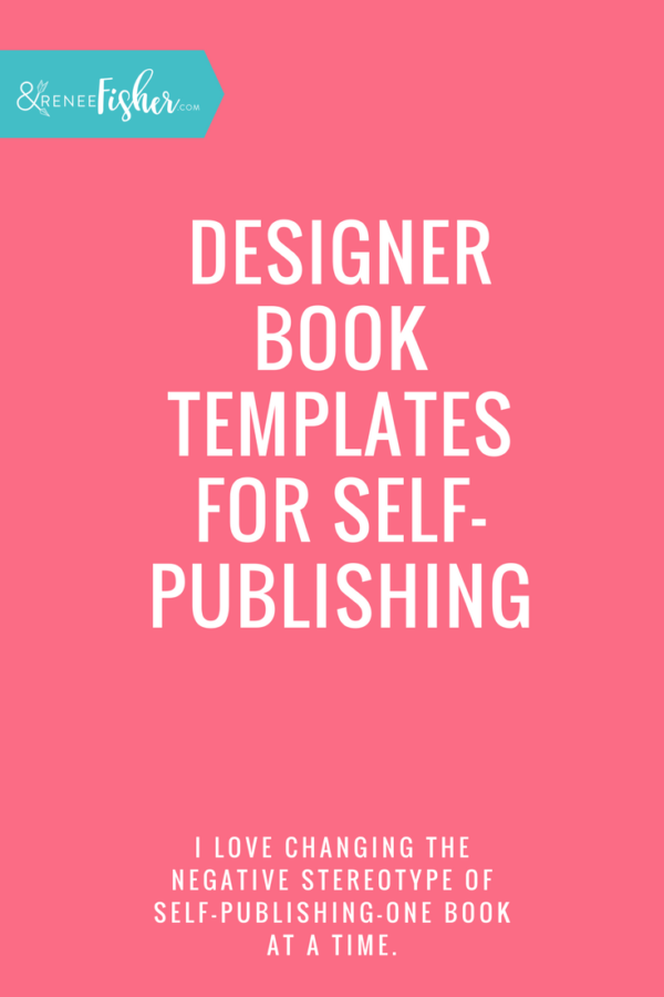 Designer Book Templates for Self-Publishing