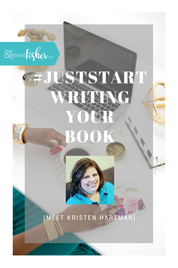 #JustStart Writing Your Book {Mary Carver}